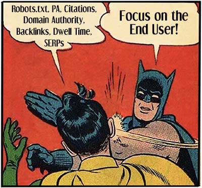 Focus on the end user